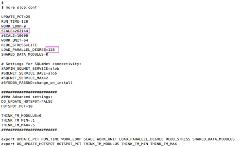SLOB-dataload-slob.conf
