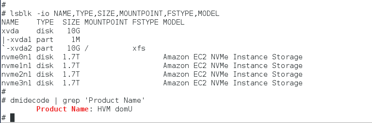 A Word About Amazon EBS Volumes Presented As NVMe Devices On C5/M5